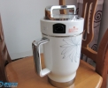 九阳豆浆机大拆解,电机清理、上油、更换碳刷。