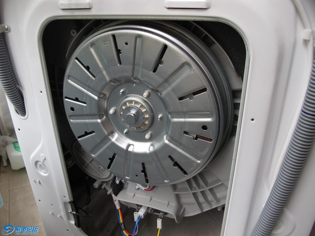 變頻+直驅)滾筒洗衣機拆機內部照片