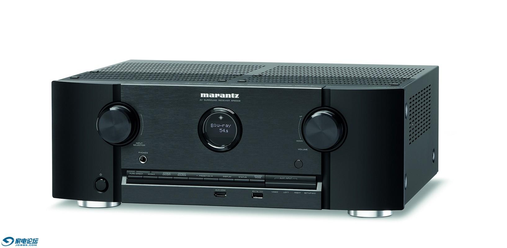 马兰士Marantz发布中端SR6008和SR5008影音接收机
