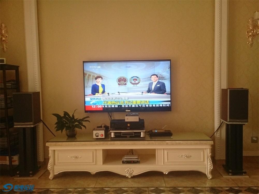 网络电视画质很干净~