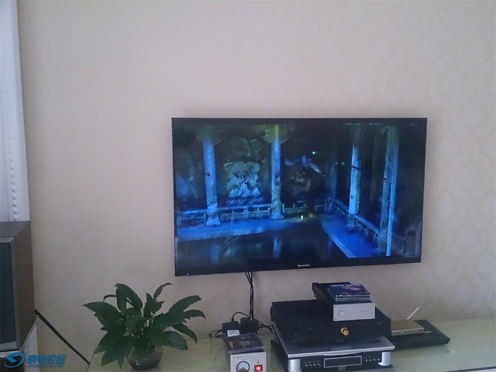 索尼HDMI郊果~画面已经不通透了~