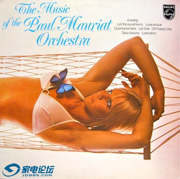 Paul Mauriat - The music of the Paul Mauriat Orchestra Record 1 - Ortofon 2M Blu.jpg