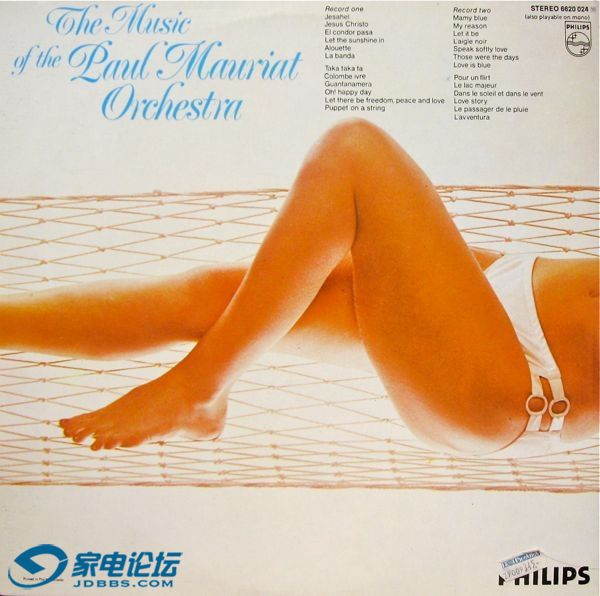 Paul Mauriat - The music of the Paul Mauriat Orchestra Record 2 - Ortofon 2M Blu.jpg