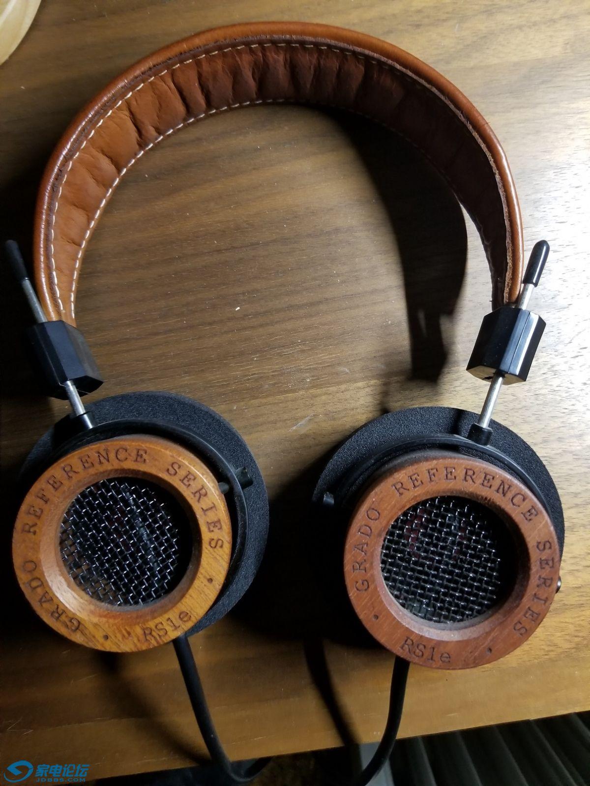 歌德 RS1E耳机,听人声、流行乐不错