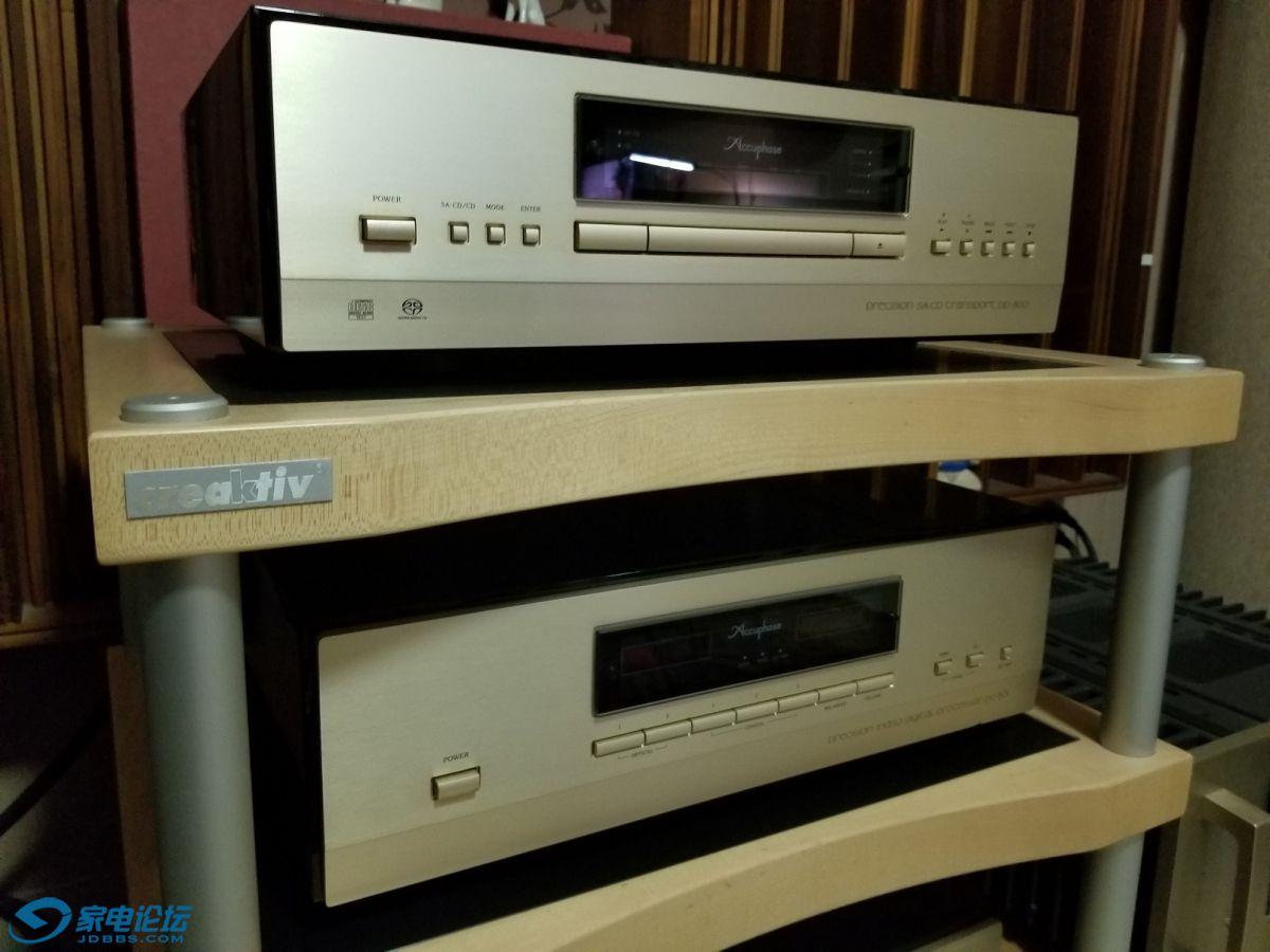音源金嗓子DP800+DC801,与音箱系统共用