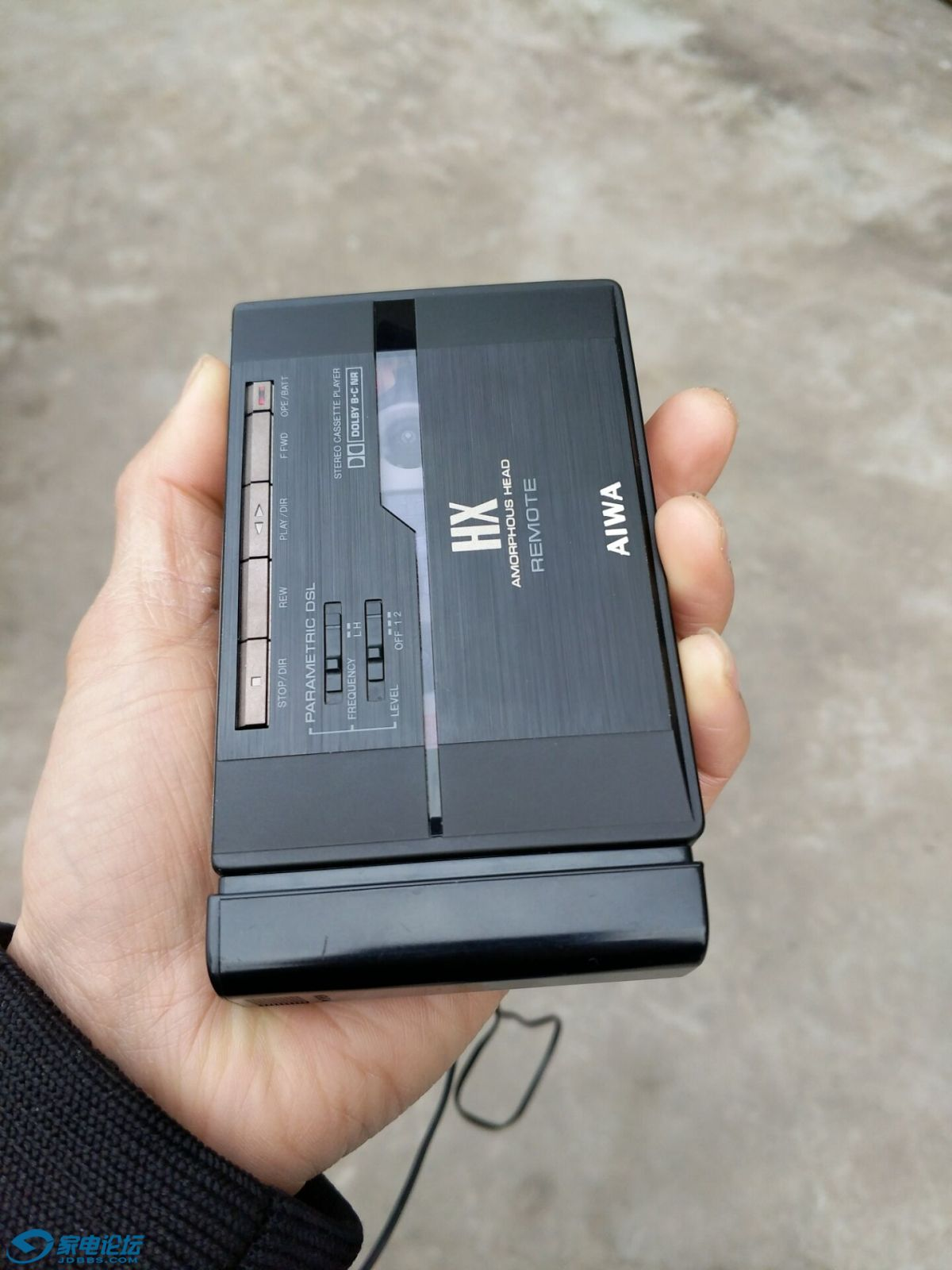 [磁带随身听出爱华px30d6c尖头全套国行d50px610开盘带电容麦