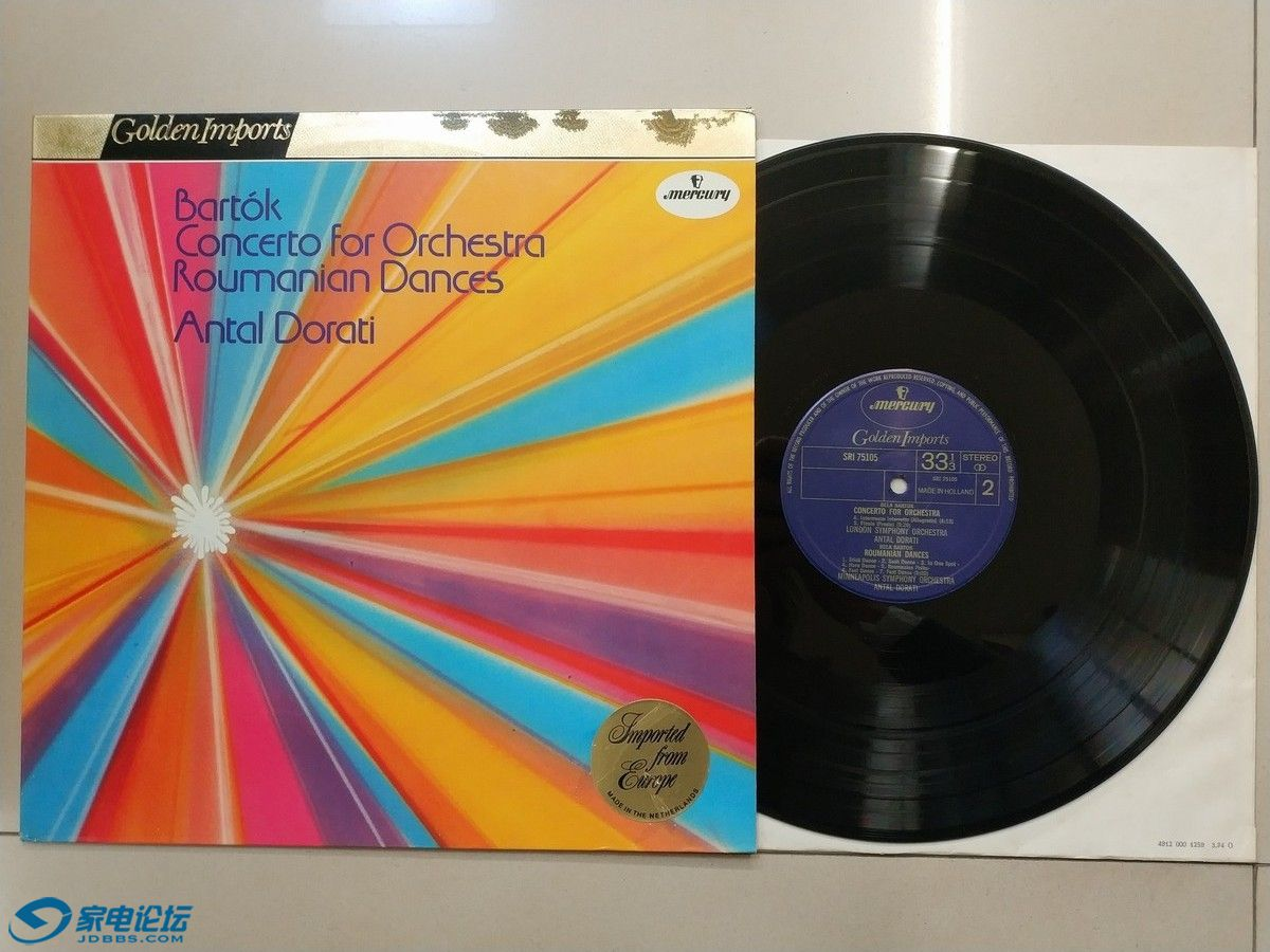 W1971-1 水星公司发烧上榜录音系列,多拉蒂 指挥明娜波利斯交响乐团《巴托克 管弦乐协.jpg