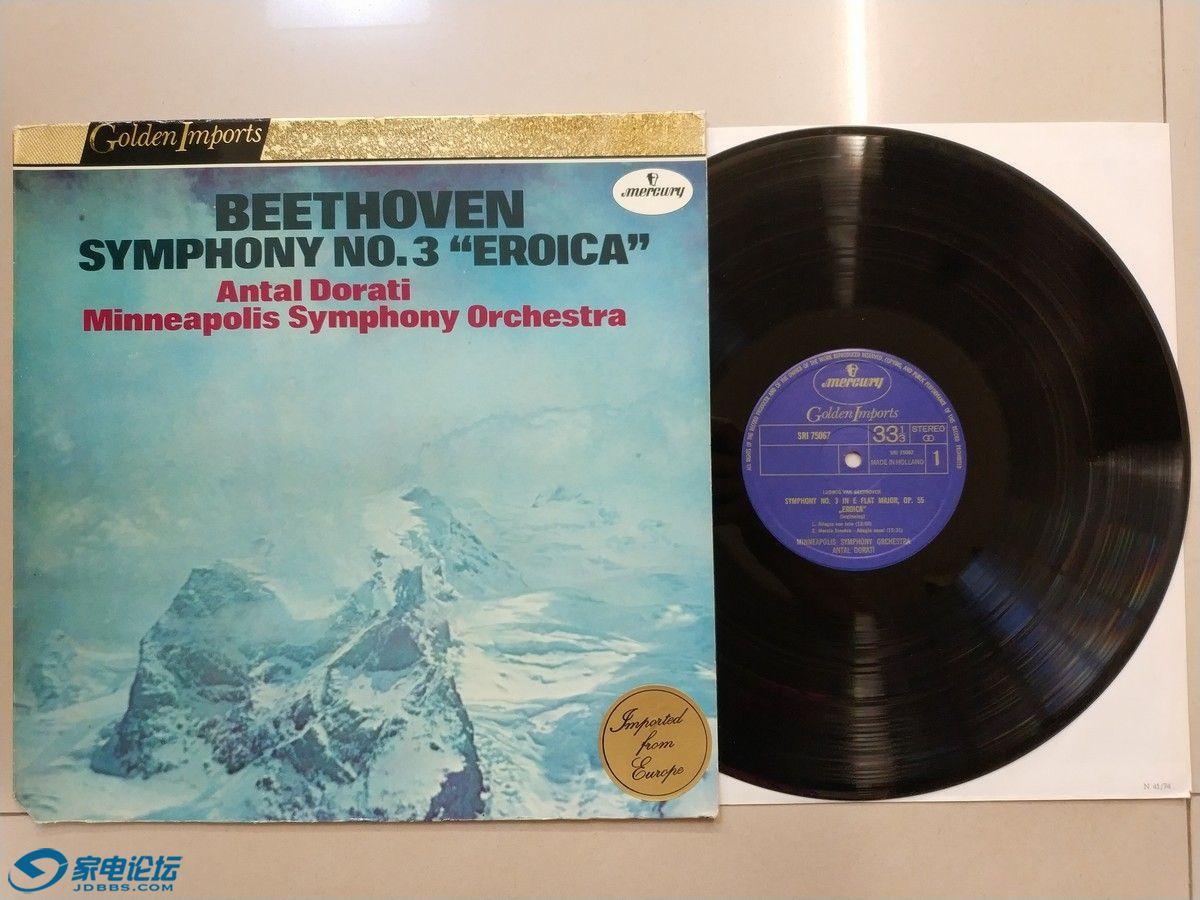W2019-1 水星公司发烧上榜录音系列,多拉蒂 指挥明娜波利斯交响乐团《贝多芬 第3交响.jpg