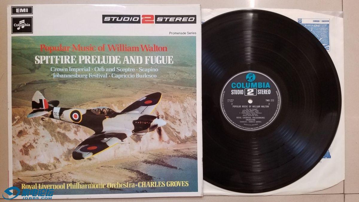 W2192-1 格罗菲 指挥皇家利物浦爱乐《威廉·沃尔顿 流行音乐作品集》,英国EMI体声,S.jpg