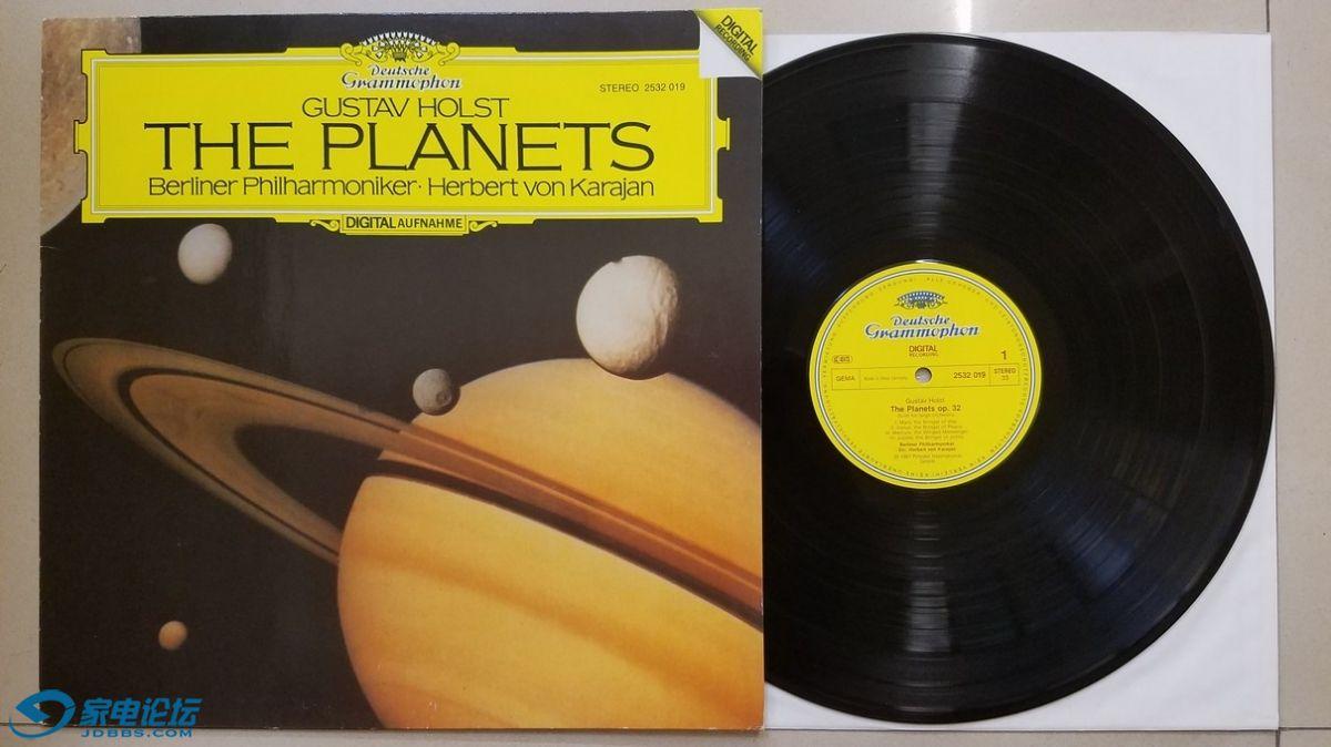 W2310-1 《发烧音响》上榜,卡拉扬 指挥柏林爱乐乐团《霍斯特 行星组曲》,西德DG立体.jpg