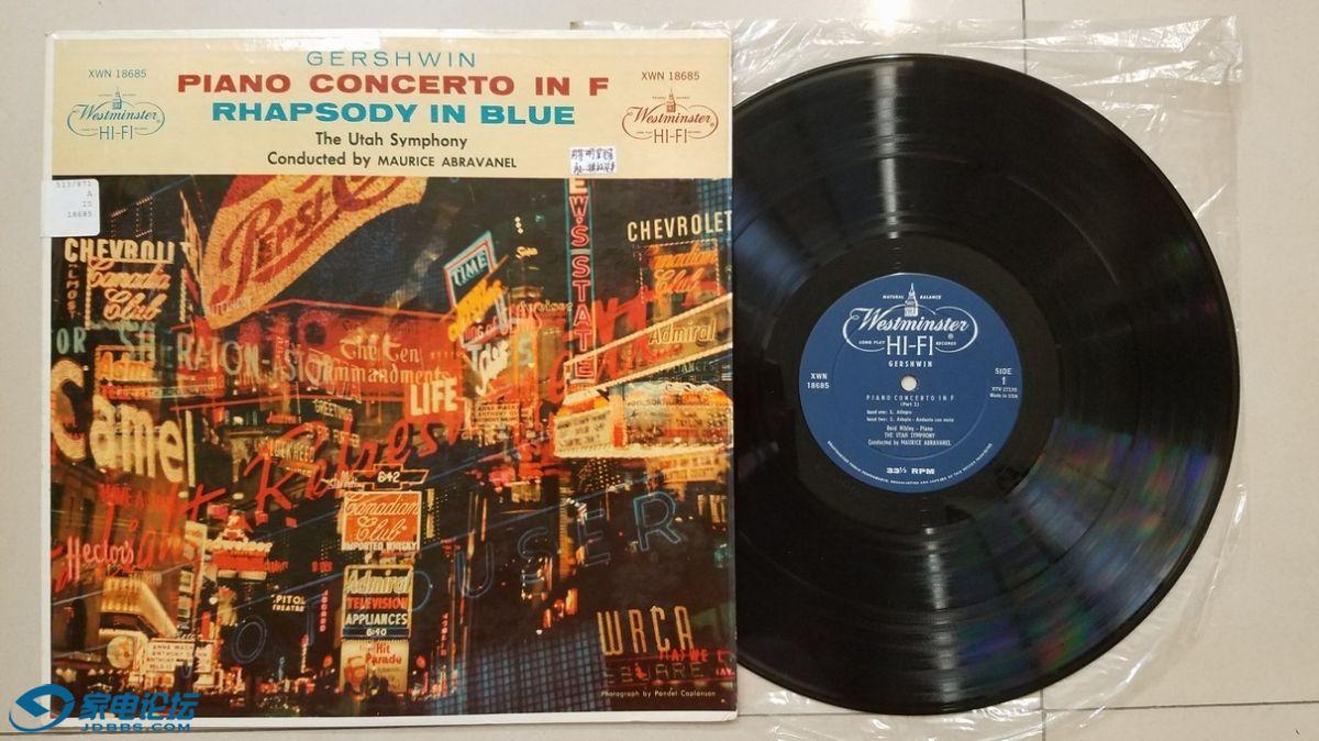 W2496-1 阿布拉瓦内尔 指挥犹他交响乐团,Reid Nibley 钢琴《格什温 钢琴协奏曲、蓝色.jpg