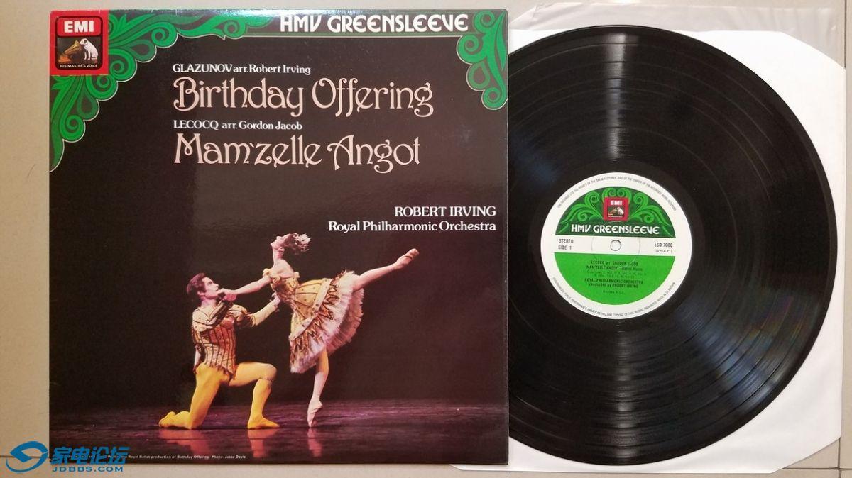 "W2484-1 罗伯特·欧文 指挥皇家爱乐乐团《2首著名的芭蕾舞改编曲""格拉祖诺夫 生日献.jpg"