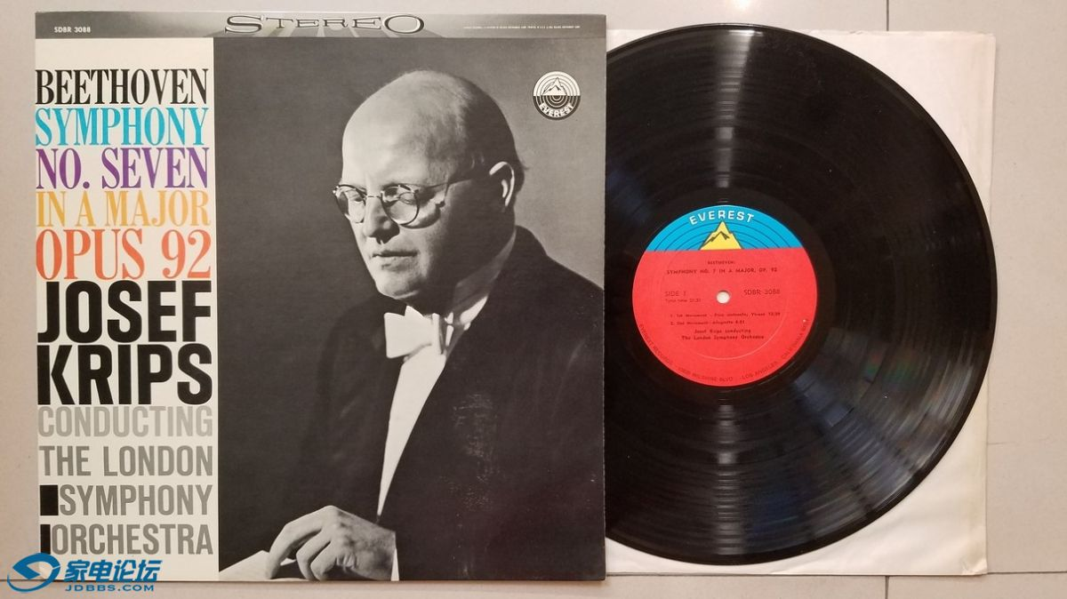 W2497-1 约瑟夫·克雷普斯 指挥伦敦交响乐团《贝多芬 第7交响曲》,美国EVEREST立体声.jpg