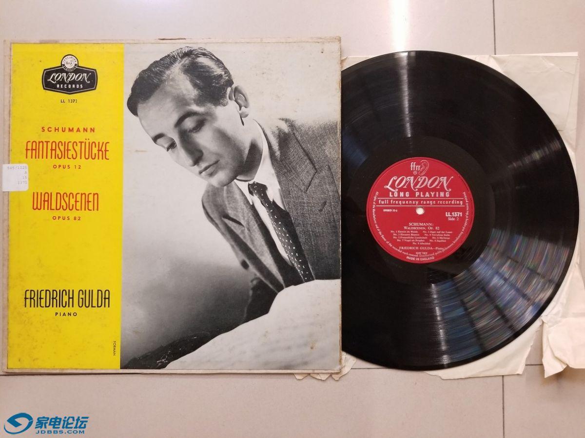 W2546-1 弗里德里希·古尔达 钢琴《舒曼 幻想曲、森林情景》,英国LONDON单声道,边缘.jpg