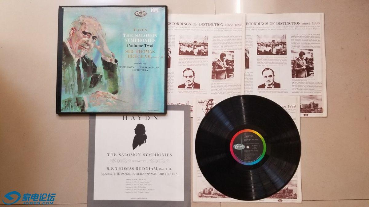 H0530-1 比切姆爵士 指挥皇家爱乐乐团《海顿 所罗门交响曲集(最著名的第99-104)》(.jpg