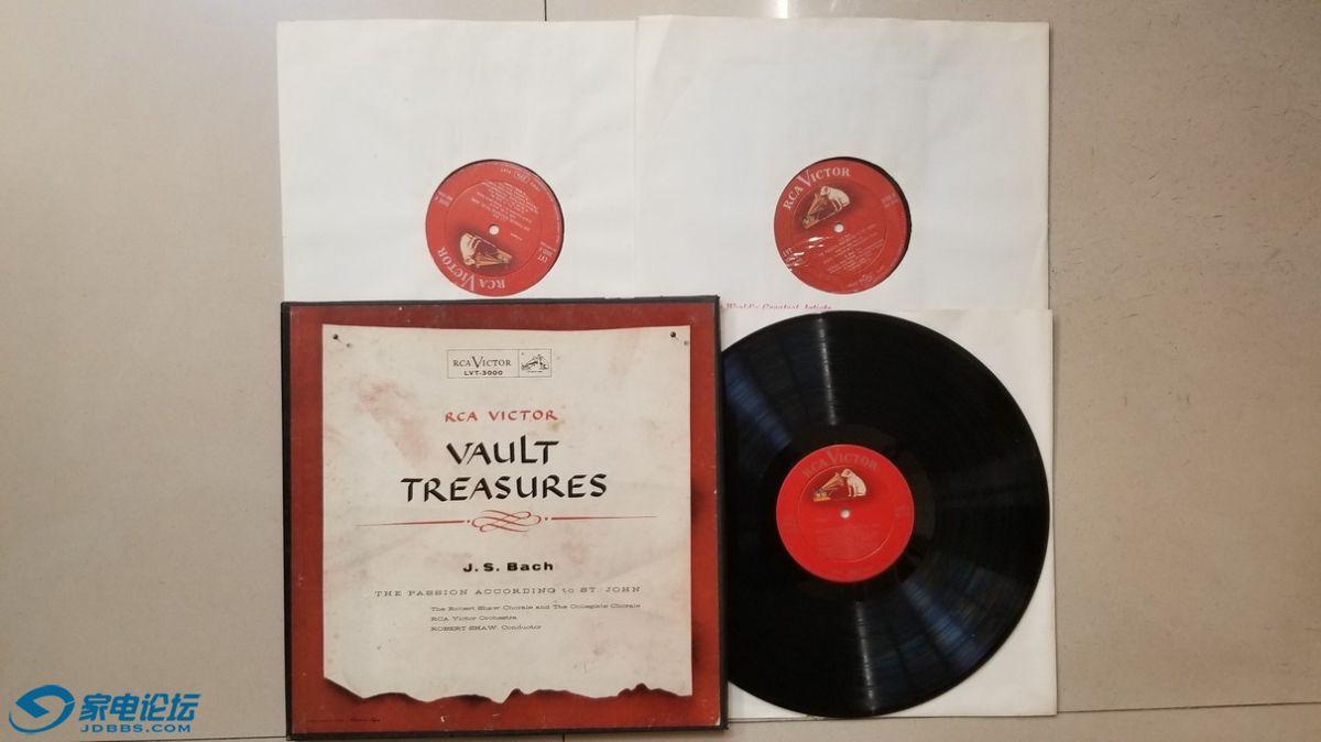 H0610-1 罗伯特·肖 指挥RCA Victor管弦乐团、罗伯特·肖合唱团等《巴赫 圣约翰受难曲.jpg