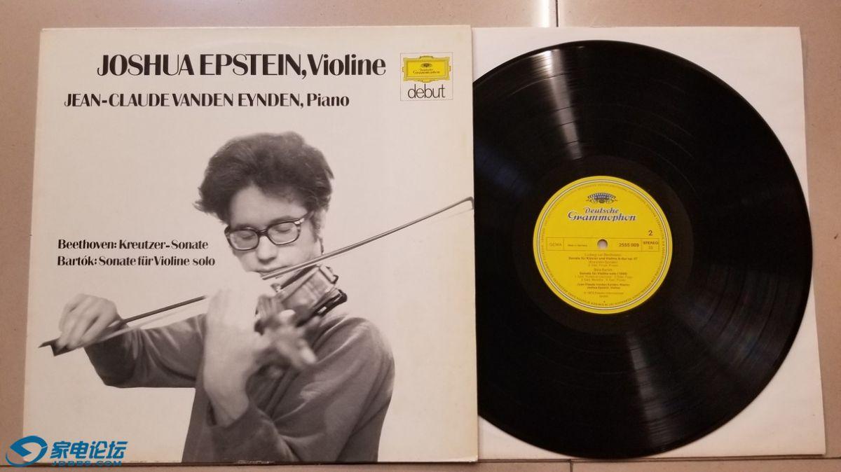 W2618-1 乔舒亚·爱普斯坦 小提琴、让-克洛德·旺顿·埃因顿 钢琴《贝多芬 小提琴奏鸣.jpg