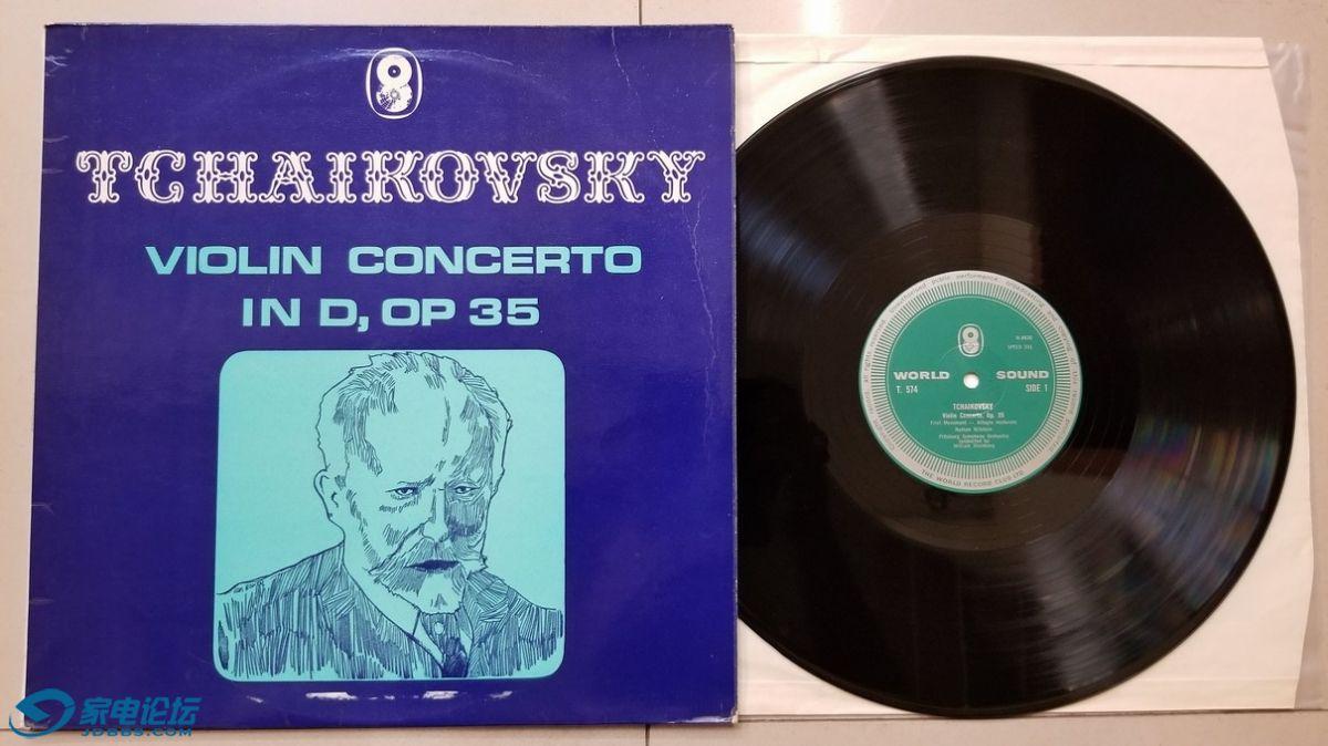 W2620-1 斯坦伯格 指挥匹兹堡交响乐团,米尔斯坦 演奏《柴可夫斯基 小提琴协奏曲》,.jpg