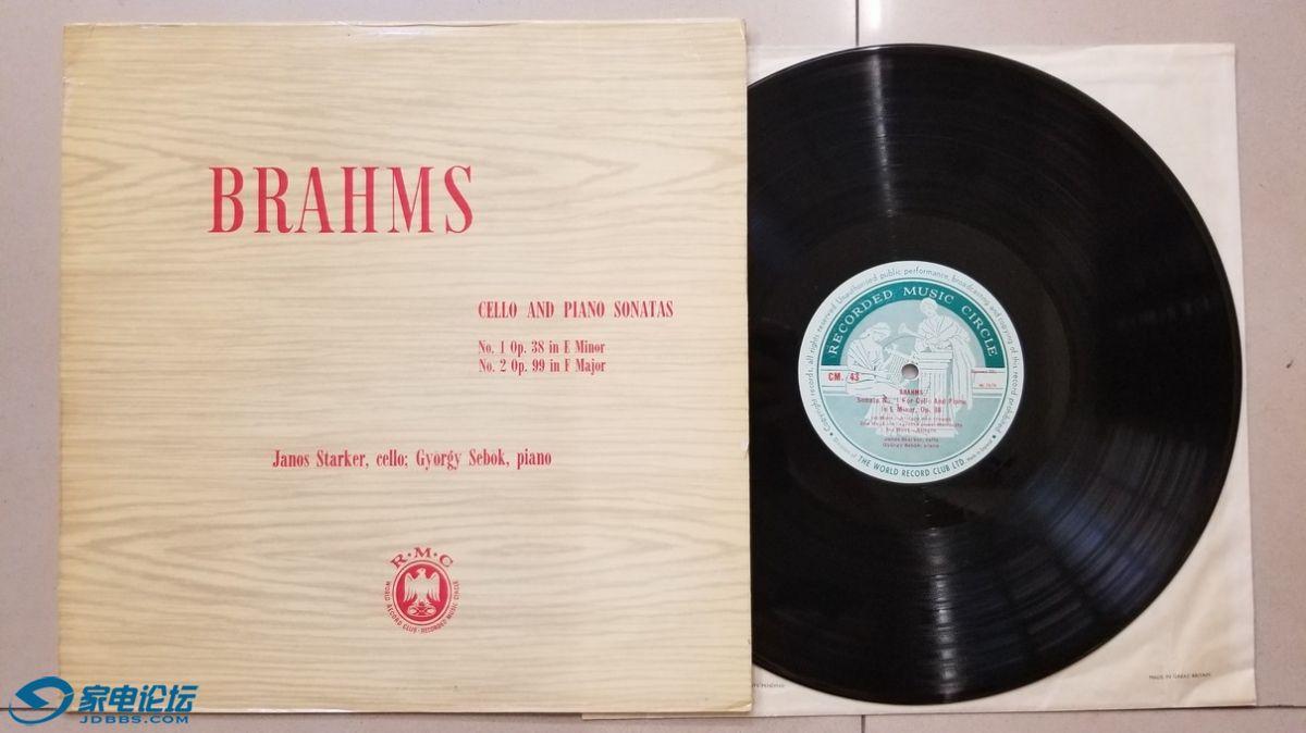 W2640-1 亚诺什·斯塔克 大提琴、热尔基·谢伯克 钢琴《勃拉姆斯 第1、2大提琴与钢琴.jpg