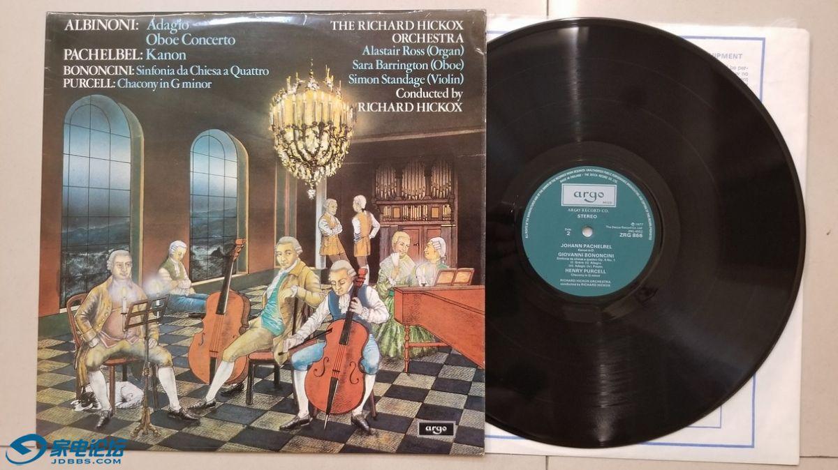 W2641-1 理查德·希考克斯 指挥《阿尔比诺尼 管风琴与弦乐柔板、双簧管与弦乐协奏曲,.jpg