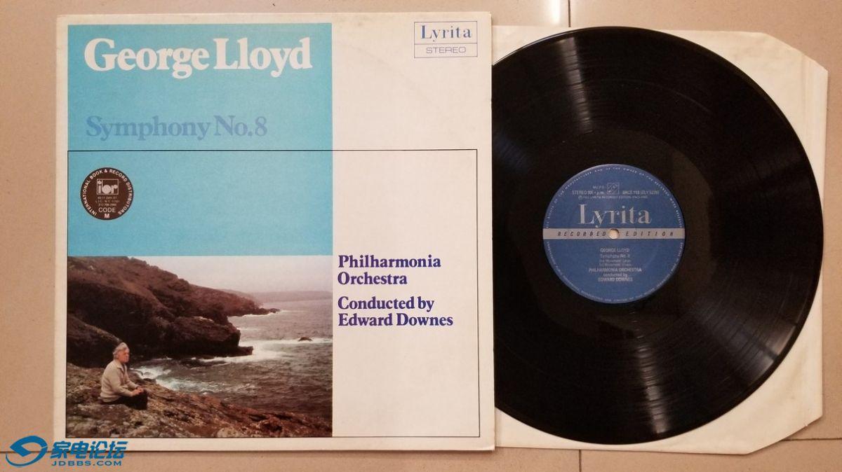 W2662-1 爱德华·唐斯 指挥爱乐乐团《乔治·洛伊德 第8交响曲》,英国Lyrita立体声,.jpg
