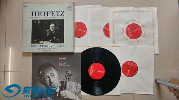 H0654-1 海菲兹、Emanuel Bay、布鲁克斯·史密斯 演奏《贝多芬 小提琴与钢琴奏鸣曲全.jpg