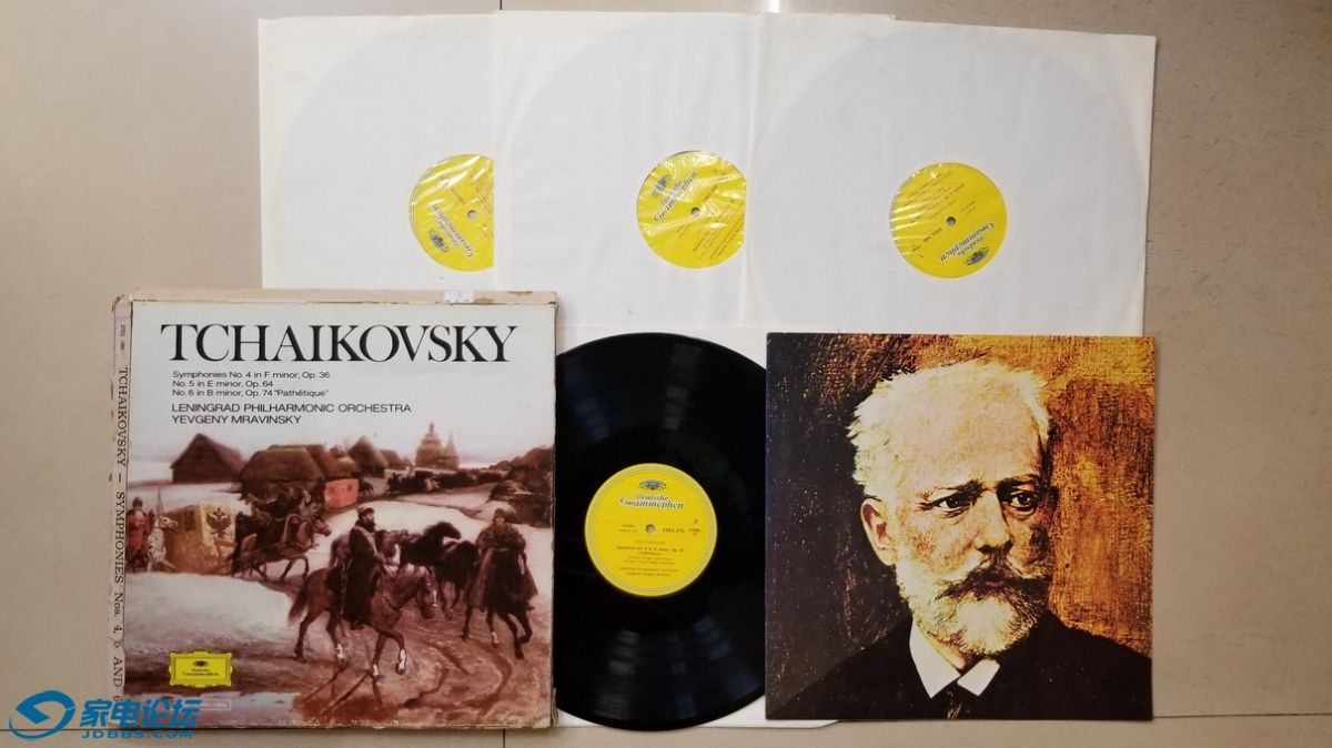 H0666-1 上榜名盘,穆拉文斯基 指挥列宁格勒爱乐乐团《柴可夫斯基 第4、5、6交响曲》.jpg