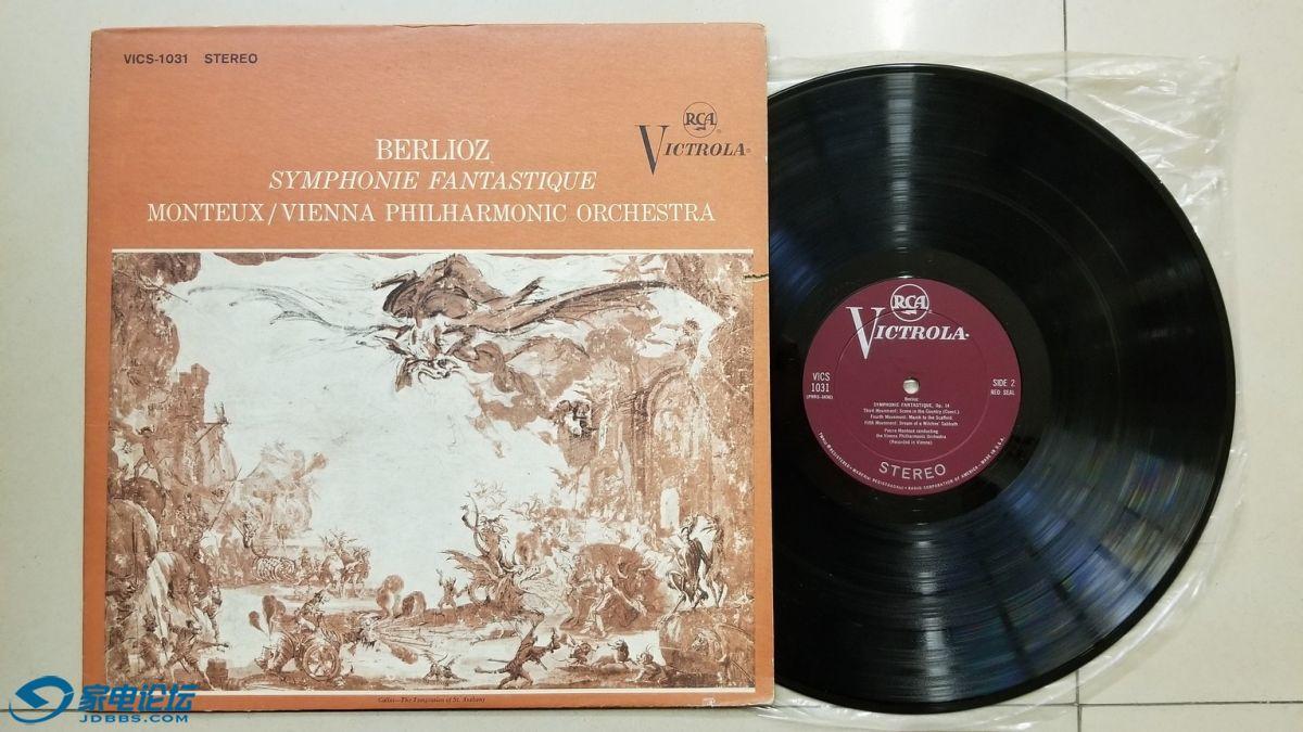 W2680-1 蒙特 指挥维也纳爱乐乐团《柏辽兹 幻想交响曲》,美国RCA立体声,VICTROLA带.jpg
