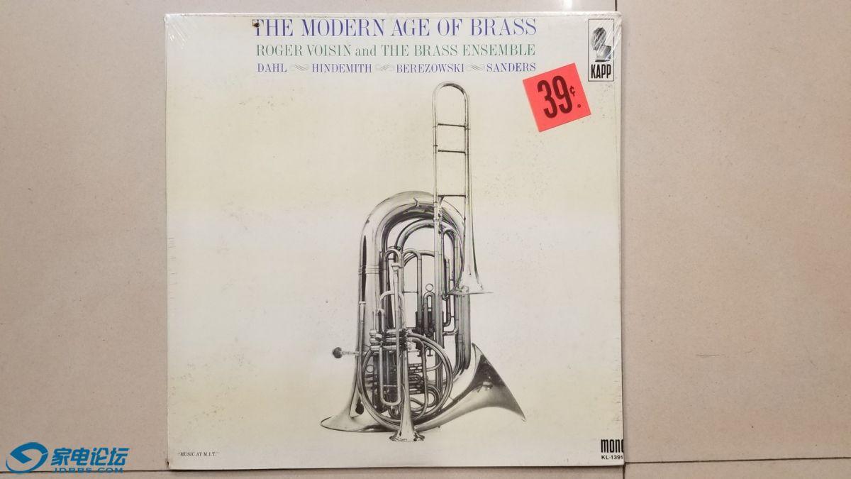 W2741-1 《摩登时代的铜管乐》,美国KAPP单声道,原厂老版本未开封,70元.jpg