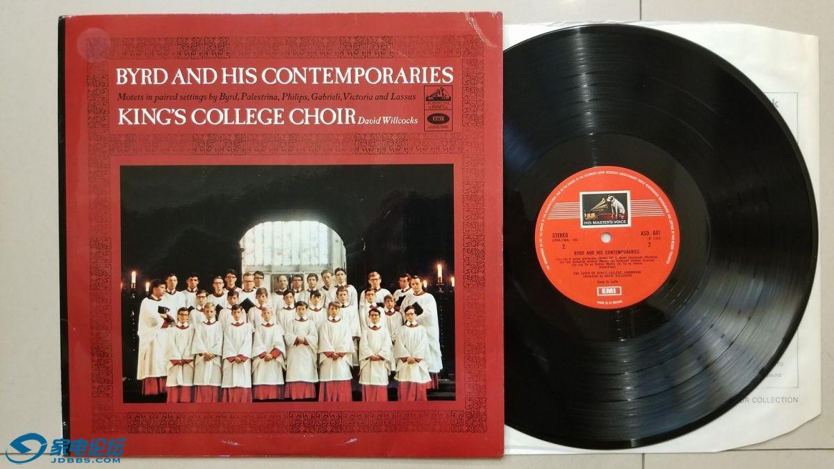 W2750-1 剑桥国王合唱团《伯德和他的同时代人》,英国EMI立体声,无圈彩狗厚盘,唱片N.jpg
