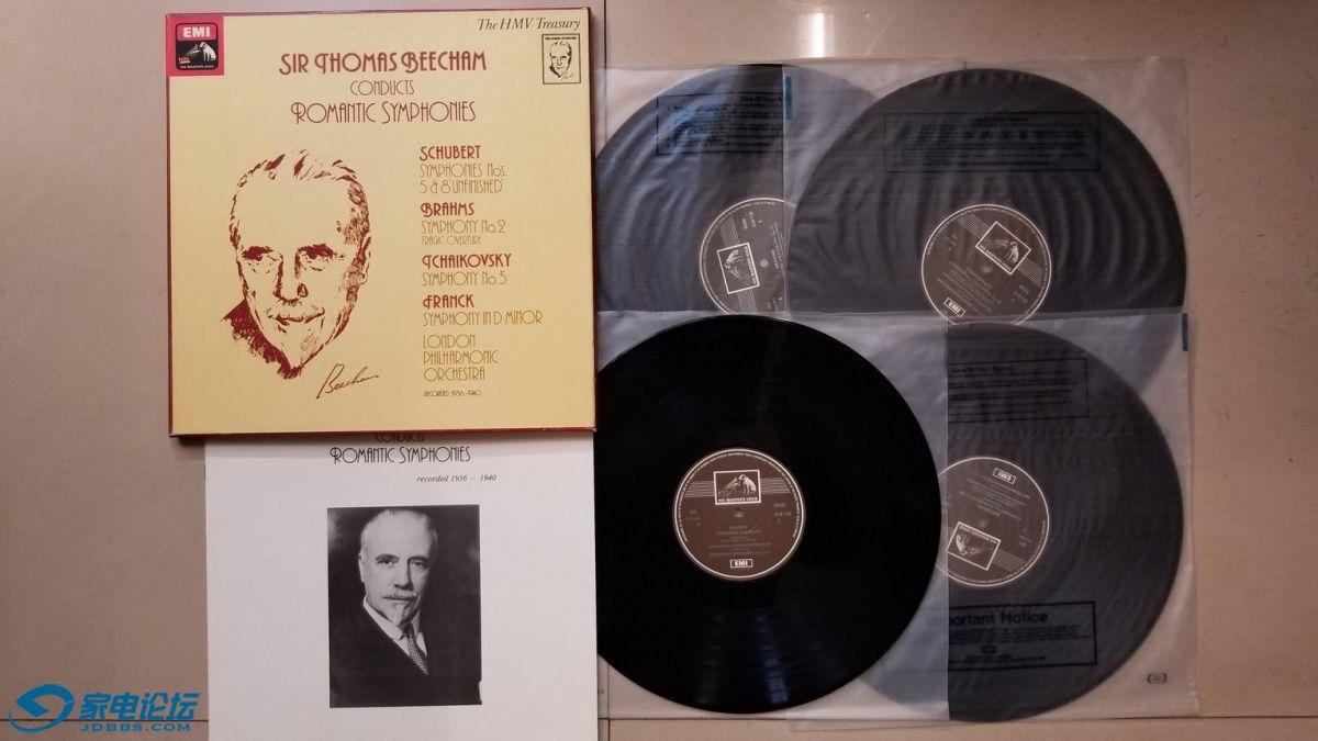H0673-1 比切姆爵士 指挥伦敦爱乐乐团《浪漫交响曲集(舒伯特 第5、8交响曲,勃拉姆斯.jpg