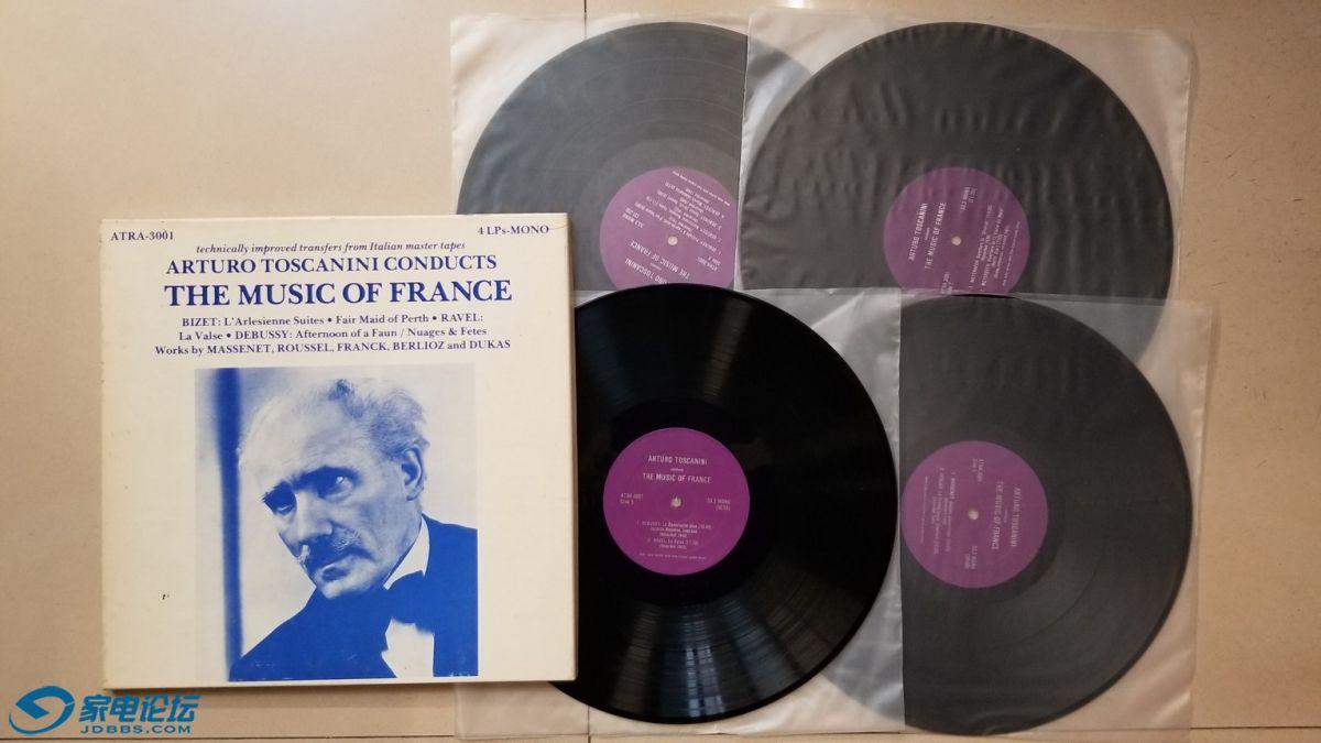 H0674-1 托斯卡尼尼 指挥《法国浪漫古典音乐作品(比才 阿莱城姑娘组曲、美丽的珀斯女.jpg