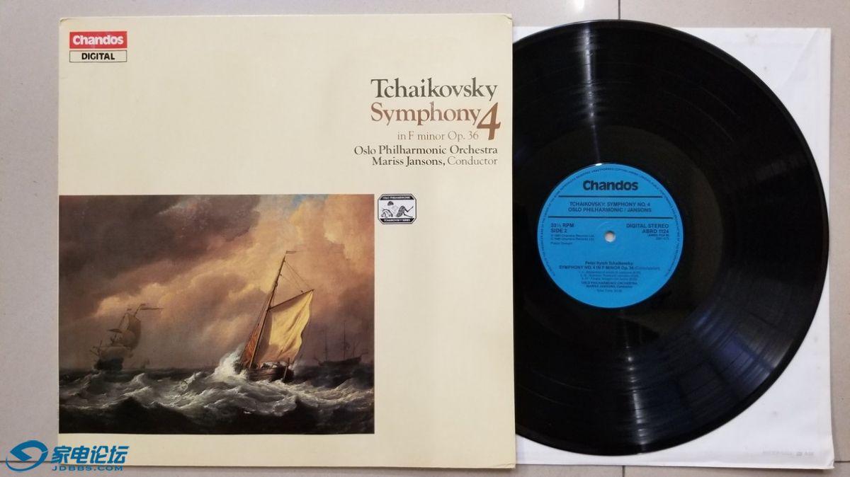 W2761-1 上榜名盘,杨松斯 指挥奥斯陆爱乐乐团《柴可夫斯基 第4交响曲》,英国chandos.jpg