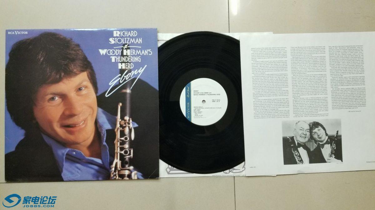 W2783-1 单簧管爵士乐名盘,理查德·斯托诺兹曼与伍迪·赫曼《EBONY》,美国RCA BMG立.jpg