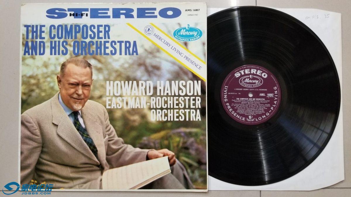 W2837-1 TAS上榜名盘,汉森 指挥伊斯特曼-罗切斯特管弦乐团《汉森 欢乐山组曲》,美国.jpg