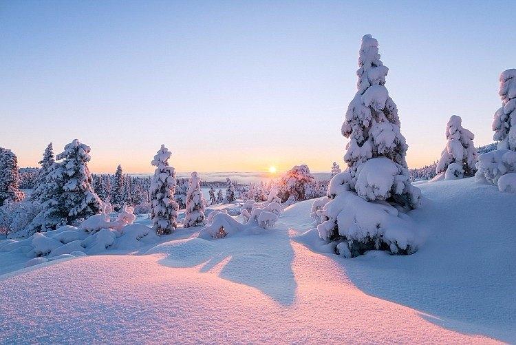 冬季雪景风光拍摄小技巧