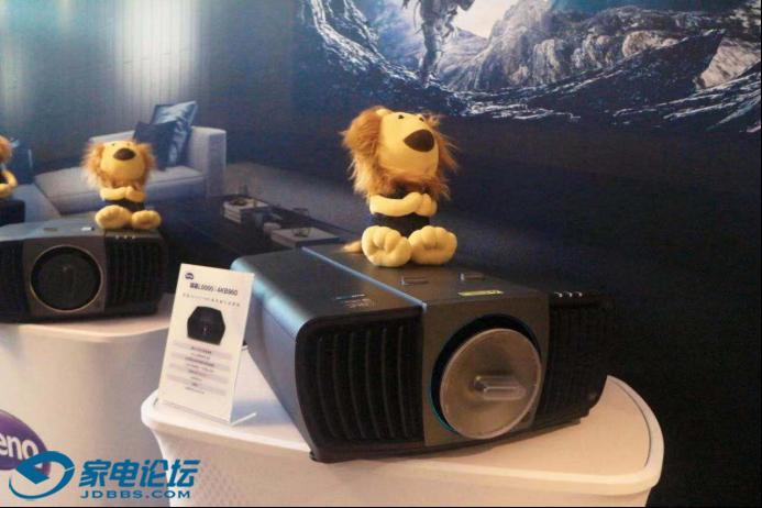 明基广色域色准投影机亮相广州国际音响展1280.png