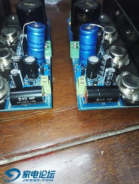 升级输入电容 苏伦 400V 2.2微法 输出电容 ROE 25V 4700微法 1
