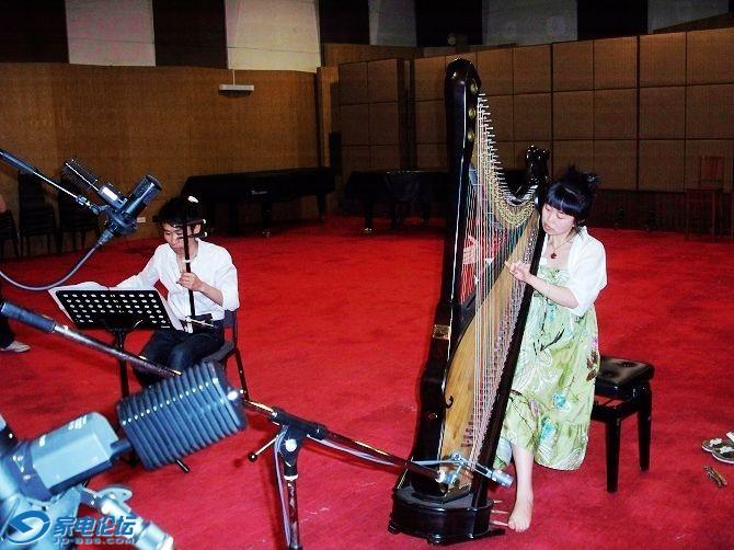 民族乐器箜篌的改良非常成功图片