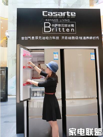 卡萨帝冰箱杭州上市2小时被下单200余次_白合金装备1ps攻略图片