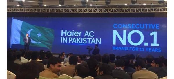第2名1个月的业绩,巴基斯坦家电No.1品牌海尔1天超越