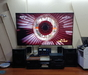 86寸的电视机投入使用