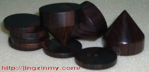 黑檀木钉和垫片