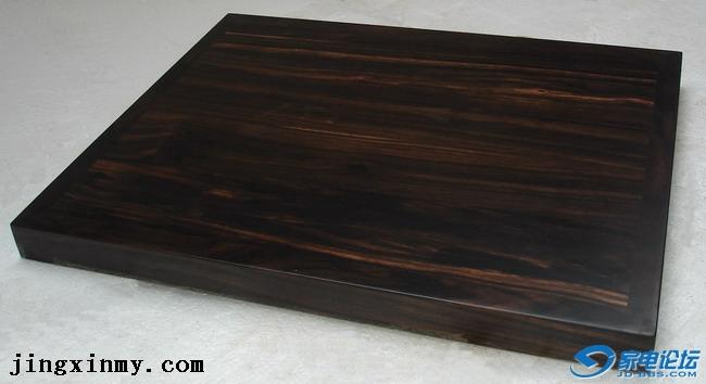 黑檀木实木音响避震垫板